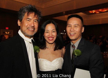 David Henry Hwang, Lia Chang and BD Wong