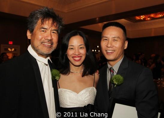 David Henry Hwang, Lia Chang and BD Wong