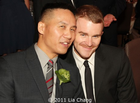BD Wong and Richert Schnorr  Photo by Lia Chang