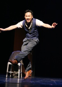 BD Wong in Herringbone. Photo by Lia Chang