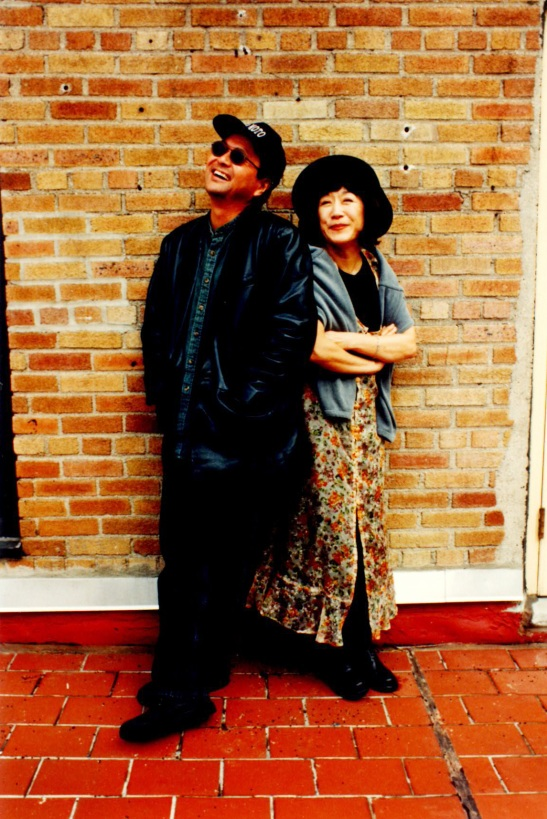 Dan Kuramoto and June Kuramoto Photo by Lia Chang