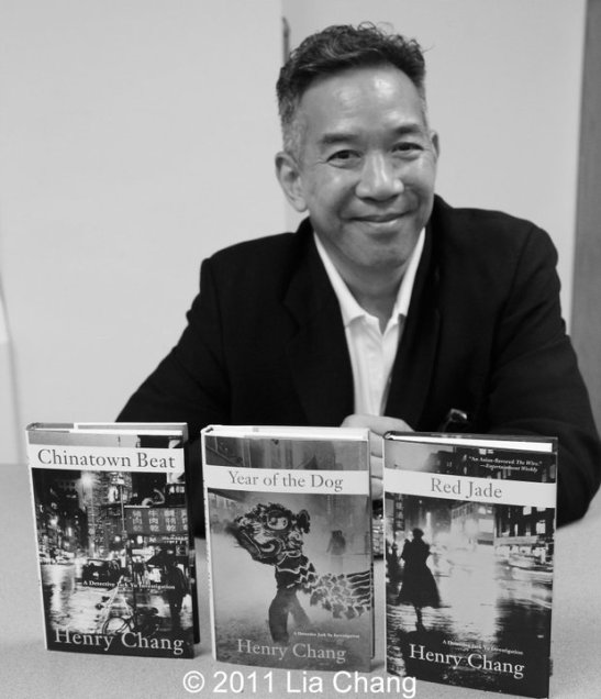 Henry Chang, author of Chinatown Beat, Year of the Dog and Red Jade. Photo by Lia Chang