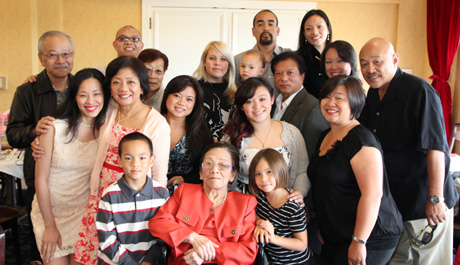 My grandmother, Nancy Lee Chang celebrated her 90th birthday on July 16, 2011.