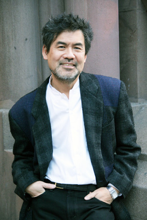 David Henry Hwang  Photo by Lia Chang
