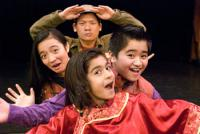 Season 2002-2003 The Magic Bus to Asian Folktales by R.A. Shiomi, Cha Yang and Jaz Canlas. Photo courtesy of Mu Performing Arts