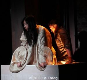 Angela Lin and Louis Ozawa Changchien Photo by Lia Chang