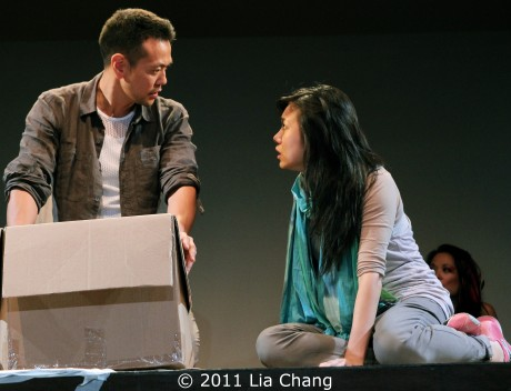 Louis Ozawa Changchien and Angela Lin Photo by Lia Chang