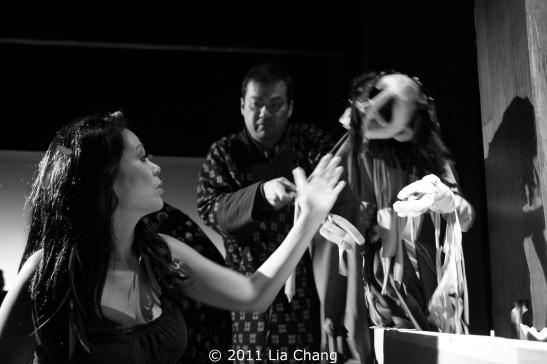 Christine Toy Johnson and David Shih Photo by Lia Chang