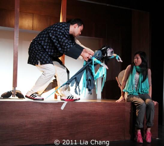 David Shih, Jake Manabat and Angela Lin Photo by Lia Chang