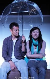 Louis Ozawa Changchien and Angela Lin Photo by Lia Chang