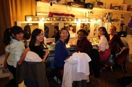 Nora Montanez, Katie Bradley, Sara Ochs, La Dawn James, Maria Kelly, Shanan Custer Photo by Lia Chang