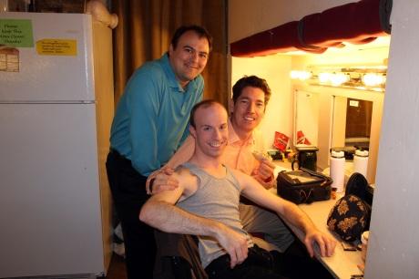 Don Eitel, Nicholas Freeman and Neil Schneider Photo by Lia Chang