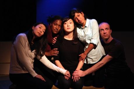 Sara Ochs, La Dawn James, Katie Bradley, Nora Montanez and Neil Schneider  Photo by Lia Chang