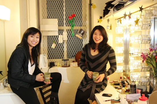 Angela Lin and Christine Lin Photo by Lia Chang