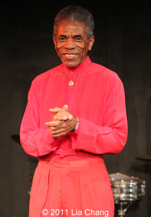 Director/Choreographer André De Shields Photo by Lia Chang