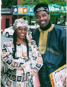 Vanessa Cooper and Imhotep Gary Byrd