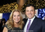 Kathie Lee Gifford and Brendan Hoffman Photo by Lia Chang