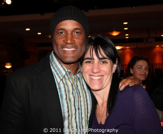 Directors Kenny Leon (The Mountaintop, Stick Fly) and Leigh Silverman (Chinglish) Photo by Lia Chang