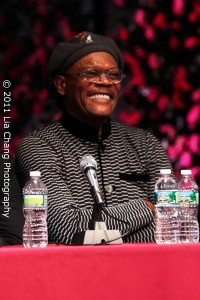 The Mountaintop actor Samuel L. Jackson Photo by Lia Chang