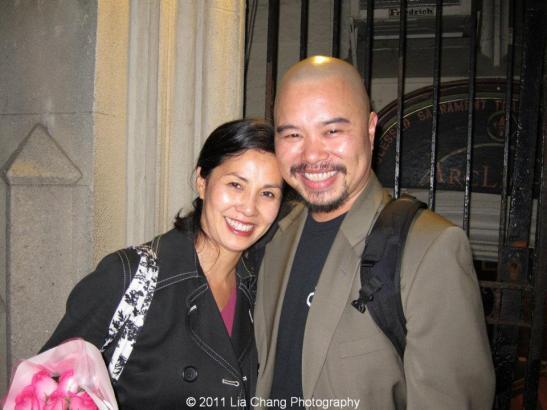 Karen Tsen Lee (Maria) and John Roque (Sir Toby) Photo by Lia Chang