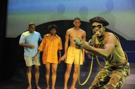 Lost Boys of Sudan at Victory Gardens Theater. Photo by Liz Lauren