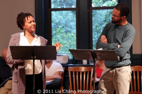 Nambi E. Kelley and Danyon Davis Photo by Lia Chang