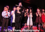 Jazz artist Christopher Yahng and the Children's Choir of P.S. 124 perform at the 32nd Annual MOCA Legacy Awards Gala at Cipriani Wall Street, 55 Wall St in New York on December 12, 2011. Photo by Lia Chang