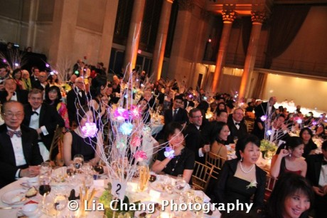 32nd Annual MOCA Legacy Awards Gala at Cipriani Wall Street, 55 Wall St in New York on December 12, 2011. Photo by Lia Chang