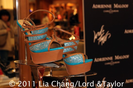 Adrienne Maloof for Charles Jourdan Shoe Collection at Lord & Taylor Fifth Avenue. Photo by Lia Chang/Lord & Taylor