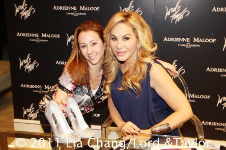 The Real Housewives of Beverly Hills' star Adrienne Maloof during a personal appearance at the Lord & Taylor Fifth Ave Flagship Store in New York to introduce her new Adrienne Maloof by Charles Jourdan Shoe Collection in December 17, 2011. Photo by Lia Chang/Lord & Taylor