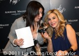 The Real Housewives of Beverly Hills' star Adrienne Maloof during a personal appearance at the Lord & Taylor Fifth Ave Flagship Store in New York to introduce her new Adrienne Maloof for Charles Jourdan Shoe Collection in December 17, 2011. Photo by Lia Chang/Lord & Taylor