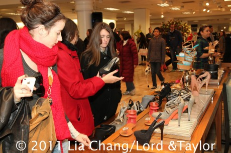 Adrienne Maloof by Charles Jourdan Shoe Collection at Lord & Taylor Fifth Avenue. Photo by Lia Chang/Lord & Taylor