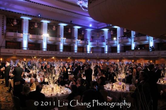 Grand Ballroom of the Waldorf Astoria Hotel. (Lia Chang)