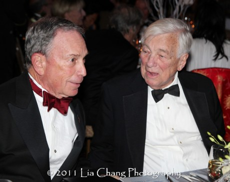 Mayor Michael Bloomberg and Former U.S. Deputy Secretary of State John C. Whitehead. (Lia Chang)