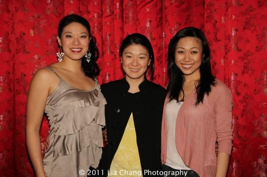 Christine Lin, Jennifer Lim and Angela Lin. Photo by Lia Chang