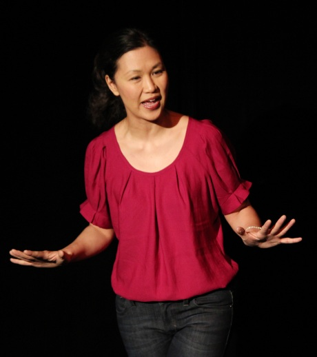 Cindy Cheung in SPEAK UP CONNIE. Photo by Lia Chang