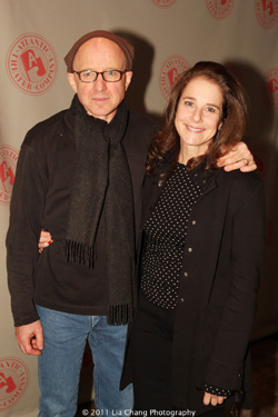 Arliss Howard and his wife actress Debra Winger. Photo by Lia Chang