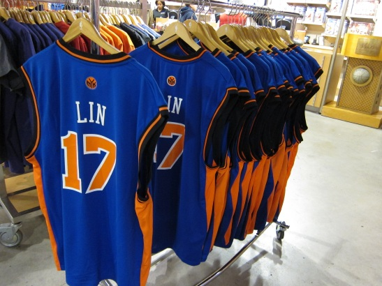 NBA Store on Fifth Ave. Photo by Lia Chang