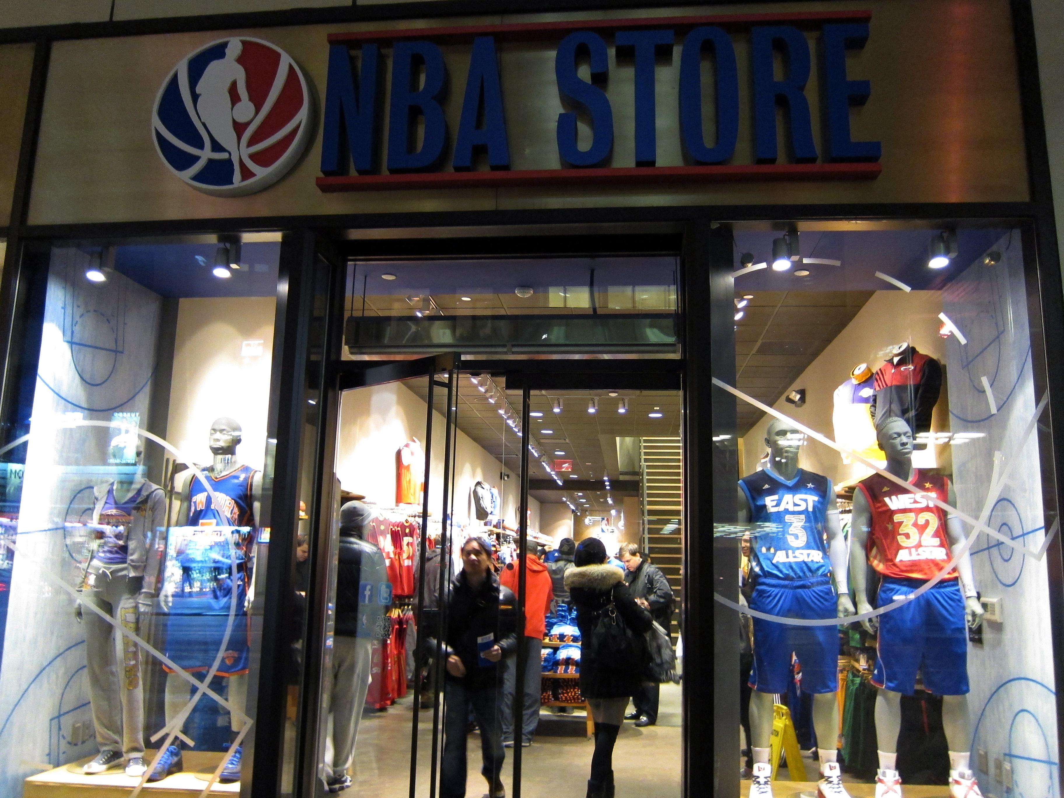 Nba.com store