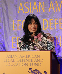 AALDEF Executive Director Margaret Fung. Photo by Lia Chang