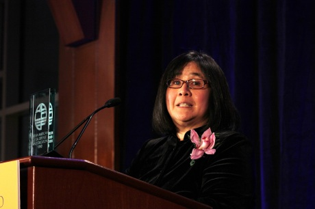 AALDEF Justice in Action 2012 honoree Yale Law Professor Jean Koh Lee. Photo by Lia Chang