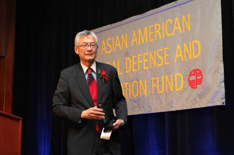 AALDEF Justice in Action 2012 honoree Parkin Lee of The Rockefeller Group. Photo by Lia Chang