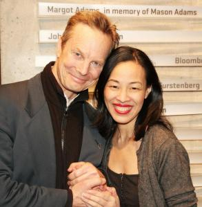 Bill Irwin and Lia Chang. Photo by Christine Lin