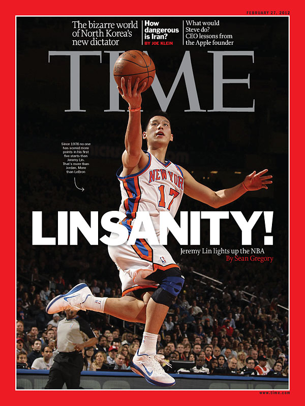 Lia Chang  NY Knicks  Jeremy Lin on 2nd Sports Illustrated Cover and ... b2805827e