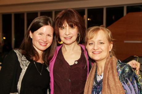 Maggie Lacey, Gordana Rashovich and Julia Gibson. Photo by Lia Chang