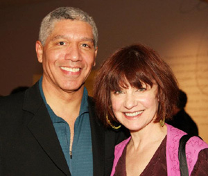 Peter Francis James and Gordana Rashovich. Photo by Lia Chang
