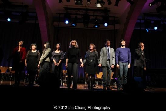 The cast of Shinsai. Photo by Lia Chang