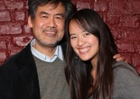 David Henry Hwang and Ellie Wen in New York. Photo by Lia Chang