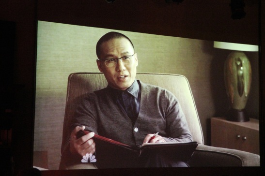 "BD Wong as Dr. John Lee on NBC's ""Awake""."