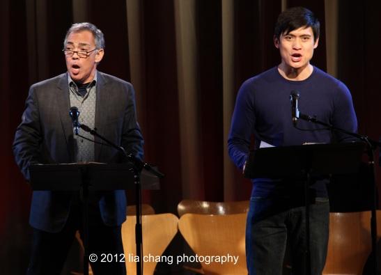 Thom Sesma and Paolo Montalban. Photo by Lia Chang
